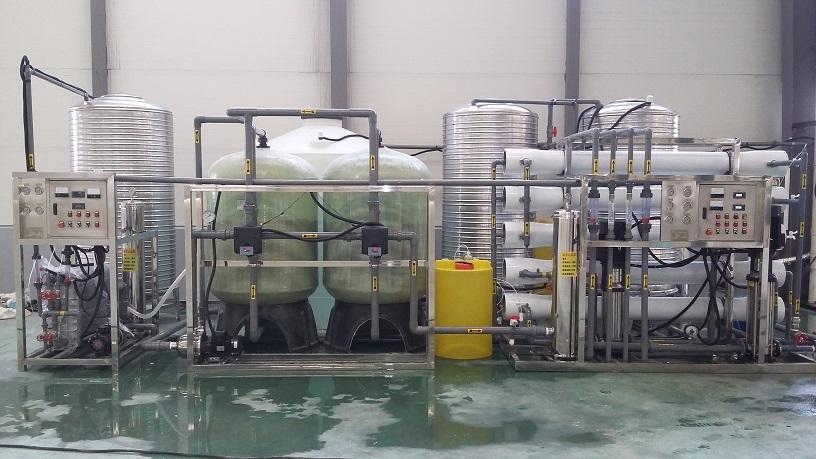 哈尔滨飞机制造有限公司(双级反渗透+EDI超纯水设备)