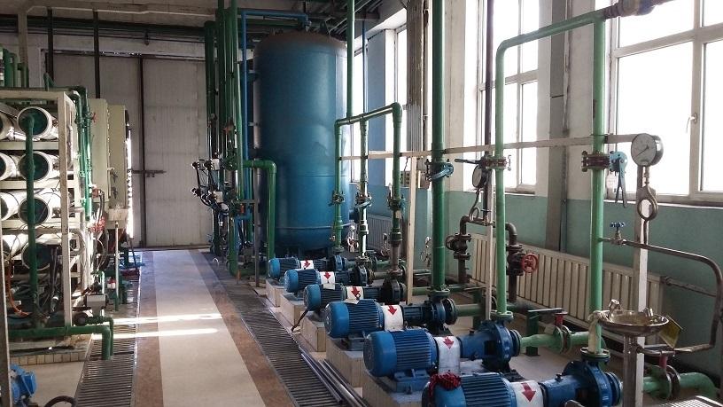 国能梅河口生物发电有限公司(8T双级反渗透+EDI除盐系统改造)
