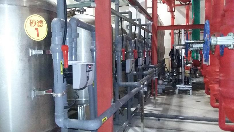 烟台国际机场(40T水处理设备)
